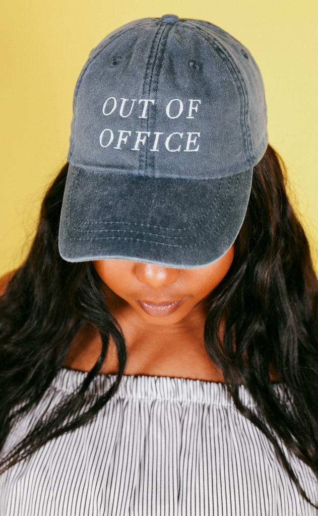 friday + saturday: out of office hat