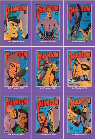 Phantom Philecard #611-619