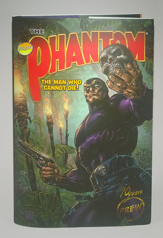 Phantom - 70th Anniversary Hard Cover signed by Sy Barry... et al.