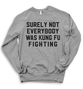 Kung Fu Fighting Sweater