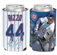 Anthony Rizzo Chicago Cubs 2 Sided 12 oz. Can Cooler By Wincraft