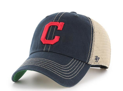 Men's Cleveland Indians Trawler Adjustable Hat By '47 Brand