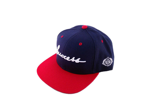 Accessories - Logo Snapbacks (Navy/Red) - Success Clothing