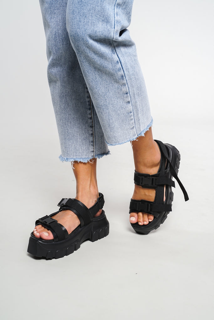 Trespasser 2.0 Chunky Sandals