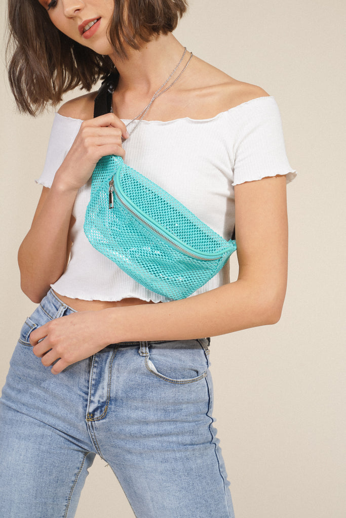 Perfect Catch Belt Bag - Teal