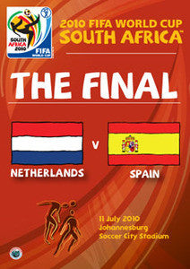 2010 FIFA World Cup South Africa - The Final