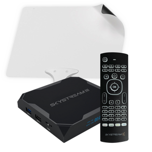 SkyStream Three Android TV Box Cord Cutting Package
