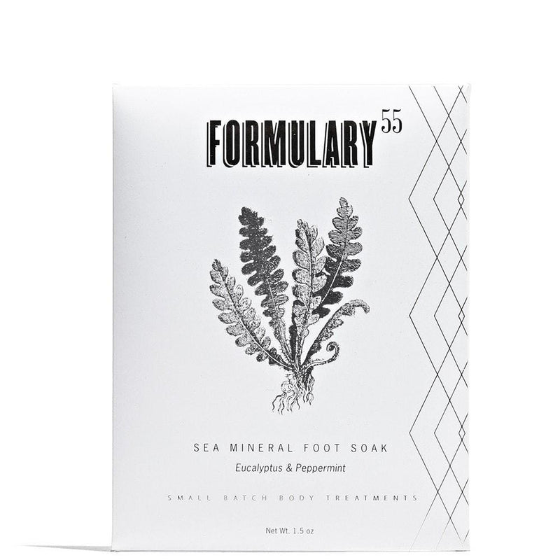 Formulary55 Peppermint Eucalyptus Foot Soak