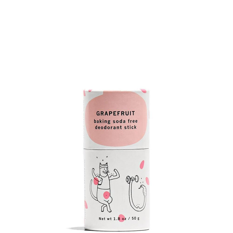 Meow Meow Tweet Baking Soda Free Deodorant Stick Grapefruit 1.8oz