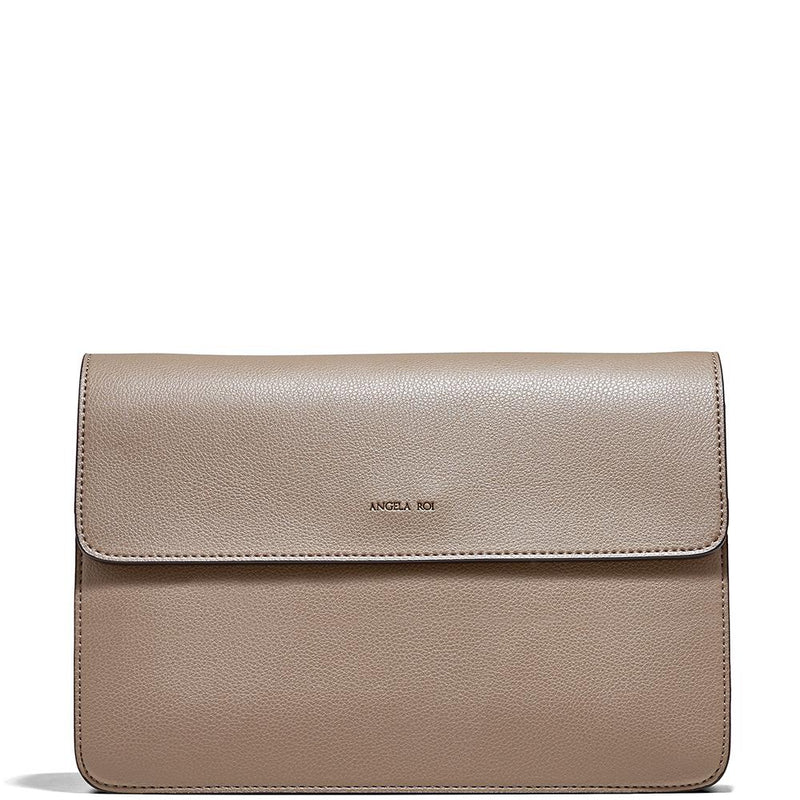 Angela Roi Hamilton Crossbody Mud Beige