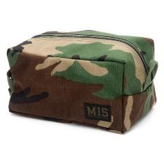 MIS - MESH TOILETRY BAG - WOODLAND CAMO ( Made in USA🇺🇸 )
