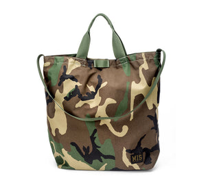 MIS - WATERPROOF CARRYING BAG - WOODLAND CAMO ( Made in USA🇺🇸 )
