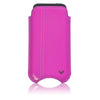 iPhone SE, 5 Pouch Case in Pink Napa Leather | Screen Cleaning Sanitizing Lining