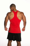 Men's Gainzzz Are Real Tank Top - Red