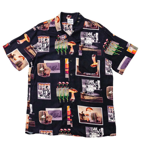 BornxRaised - After School Special Button Up Shirt - Black