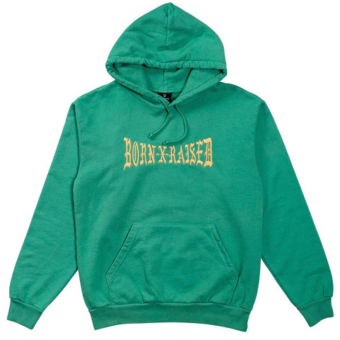 BornxRaised - Boxer Hoody - Green Spruce
