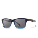 Shwood - Canby: Mariner Blue // Elm Burl - Grey Polarized - FRS