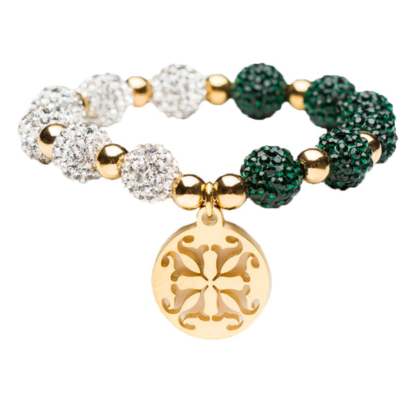 Kaleidoscope Emerald/White Gold