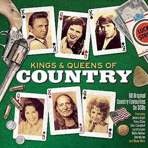 The Kings & Queens of Country 3-CD Set