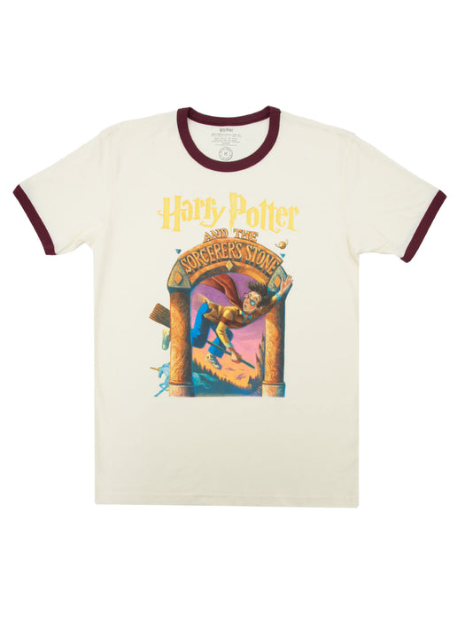 Harry Potter and the Sorcerer's Stone Unisex Ringer T-Shirt
