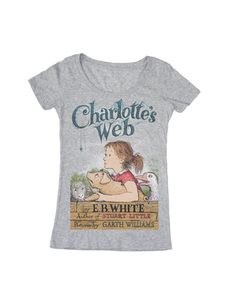 Charlotte's Web Women's Scoop T-Shirt