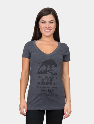 The Hound of the Baskervilles Women's V-Neck T-Shirt