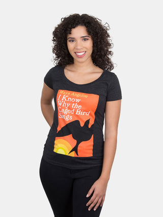 I Know Why the Caged Bird Sings Women's Scoop T-Shirt