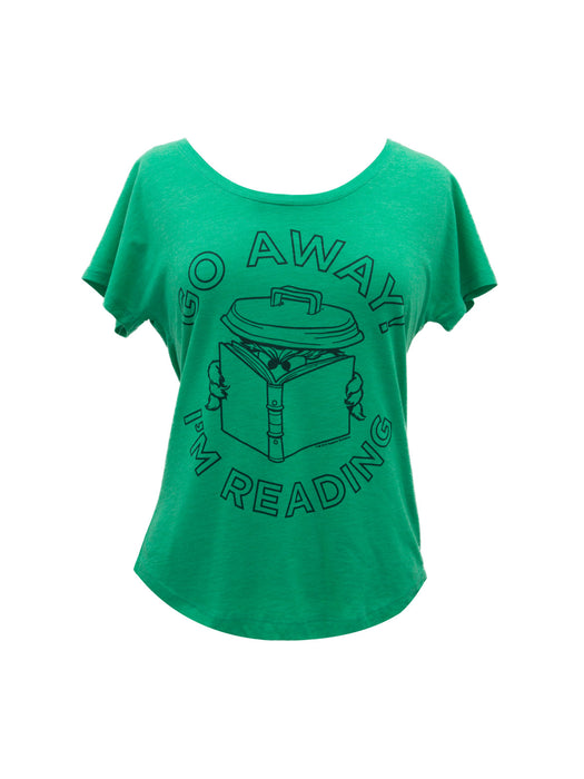 Go Away I'm Reading Women's Relaxed Fit T-Shirt