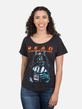 Darth Vader Star Wars READ Women's Relaxed Fit T-Shirt