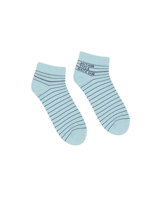 Library Card Ankle Socks 4-pack