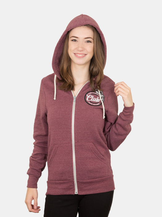 Book Sloth - Let's Hang and Read unisex zip hoodie