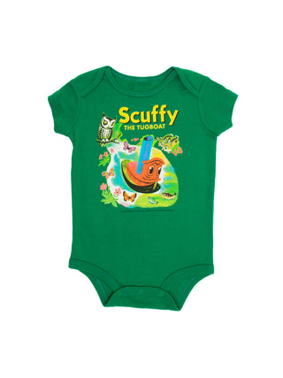 Baby Scuffy the Tugboat Bodysuit