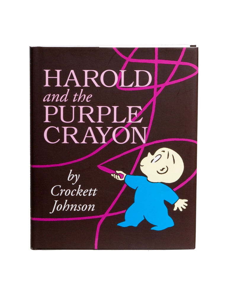 Harold and the Purple Crayon hardcover book