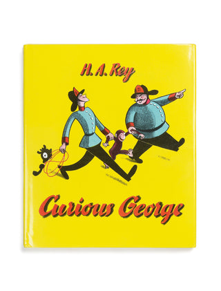 Curious George hardcover book