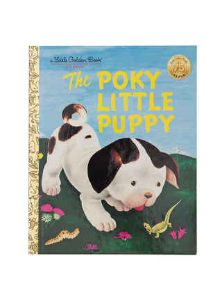 The Poky Little Puppy hardcover book
