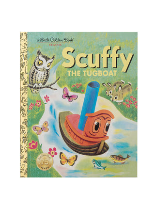 Scuffy the Tugboat hardcover book