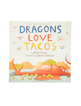Dragons Love Tacos hardcover book