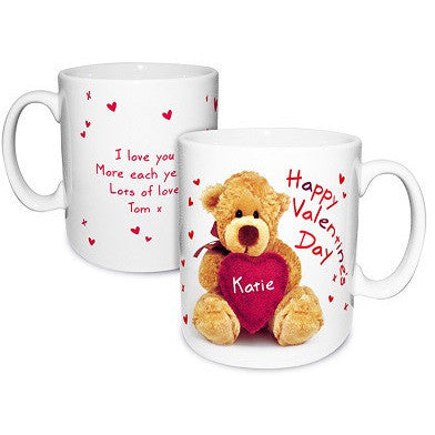 Teddy Heart Mug