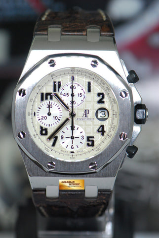 [SOLD] AUDEMARS PIGUET ROYAL OAK OFFSHORE CHRONOGRAPH 42mm SAFARI 26020ST (MINT)