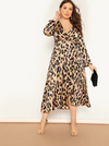 PLUS SIZE Wild Side Maxi Dress - Boho Buys