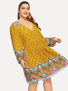PLUS SIZE Bobbi Dress - Boho Buys
