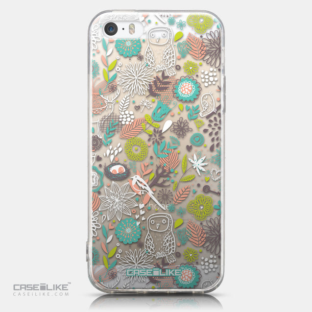 CASEiLIKE Apple iPhone 5GS back cover Spring Forest White 2241