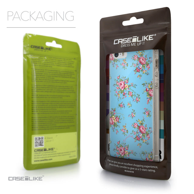 Packaging - CASEiLIKE Apple iPhone 5GS back cover Floral Rose Classic 2263