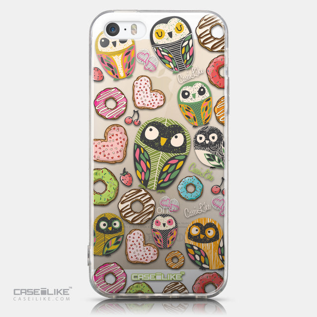 CASEiLIKE Apple iPhone 5GS back cover Owl Graphic Design 3315