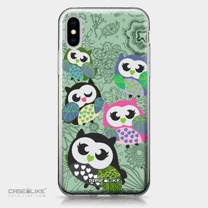 Apple iPhone X case Owl Graphic Design 3313 | CASEiLIKE.com