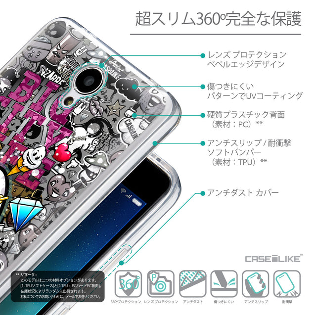 Details in Japanese - CASEiLIKE Xiaomi Redmi Note 2 back cover Graffiti 2704