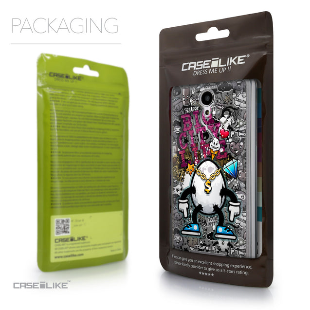 Packaging - CASEiLIKE Xiaomi Redmi Note 2 back cover Graffiti 2704