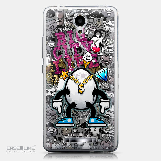 CASEiLIKE Xiaomi Redmi Note 2 back cover Graffiti 2704