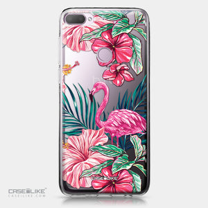 HTC Desire 12 Plus case Tropical Flamingo 2239 | CASEiLIKE.com