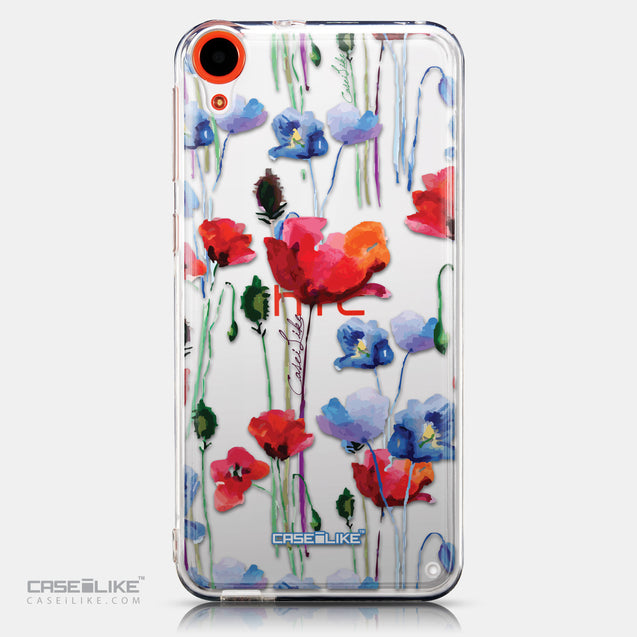 CASEiLIKE HTC Desire 820 back cover Watercolor Floral 2234